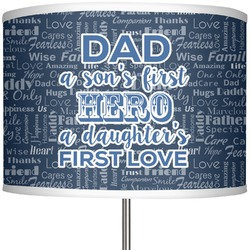"My Father My Hero 13"" Drum Lamp Shade (Personalized)"