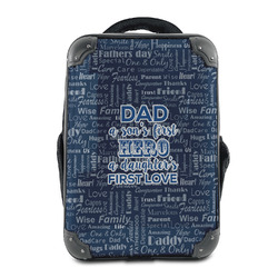 My Father My Hero Hard Shell Backpack