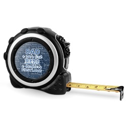 My Father My Hero Tape Measure - 16 Ft (Personalized)