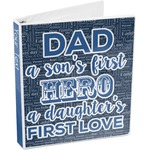 My Father My Hero 3-Ring Binder (Personalized)