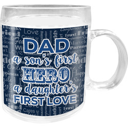 My Father My Hero Acrylic Kids Mug (Personalized)