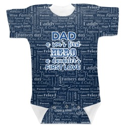 My Father My Hero Baby Bodysuit (Personalized)