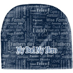 My Father My Hero Baby Hat (Beanie) (Personalized)