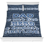 My Father My Hero Comforters (Personalized)