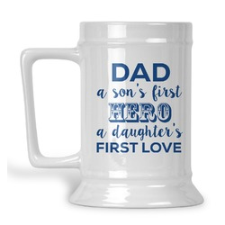 My Father My Hero Beer Stein (Personalized)