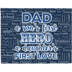 My Father My Hero Placemat (Fabric) (Personalized)