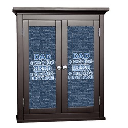 My Father My Hero Cabinet Decal - Custom Size (Personalized)