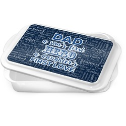 My Father My Hero Cake Pan (Personalized)