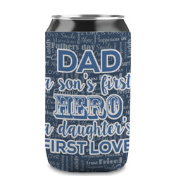 My Father My Hero Can Sleeve (12 oz) (Personalized)