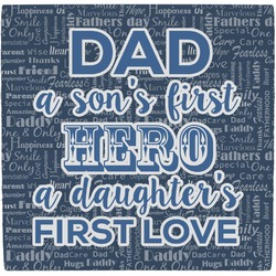 My Father My Hero Ceramic Tile Hot Pad (Personalized)