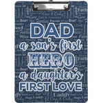 My Father My Hero Clipboard (Personalized)