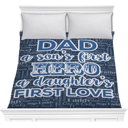 My Father My Hero Comforter (Personalized)