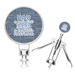 My Father My Hero Corkscrew (Personalized)
