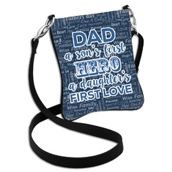 My Father My Hero Cross Body Bag - 2 Sizes (Personalized)