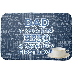 My Father My Hero Dish Drying Mat (Personalized)