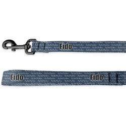 My Father My Hero Deluxe Dog Leash (Personalized)