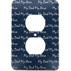 My Father My Hero Electric Outlet Plate (Personalized)