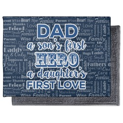 My Father My Hero Microfiber Screen Cleaner (Personalized)