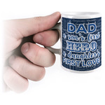 My Father My Hero Espresso Cups (Personalized)