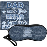 My Father My Hero Eyeglass Case & Cloth (Personalized)