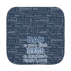 My Father My Hero Face Towel (Personalized)