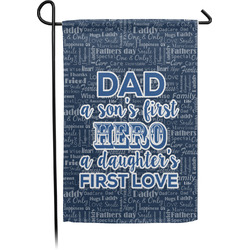 My Father My Hero Garden Flag - Single or Double Sided (Personalized)
