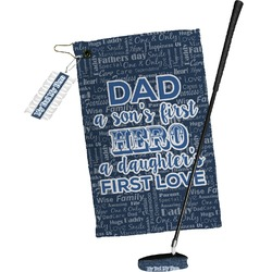 My Father My Hero Golf Towel Gift Set (Personalized)