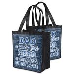 My Father My Hero Grocery Bag (Personalized)
