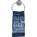 My Father My Hero Hand Towel - Full Print (Personalized)