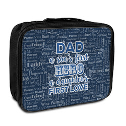 My Father My Hero Insulated Lunch Bag (Personalized)