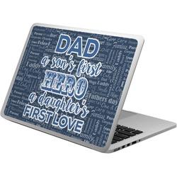 My Father My Hero Laptop Skin - Custom Sized (Personalized)