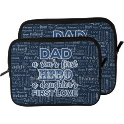 My Father My Hero Laptop Sleeve / Case (Personalized)