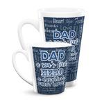 My Father My Hero Latte Mug
