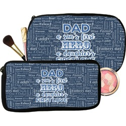 My Father My Hero Makeup / Cosmetic Bag (Personalized)