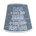 My Father My Hero Empire Lamp Shade (Personalized)