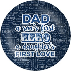 My Father My Hero Melamine Plate (Personalized)