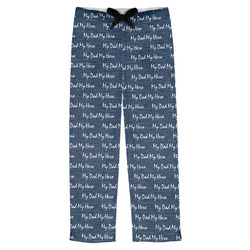 My Father My Hero Mens Pajama Pants (Personalized)