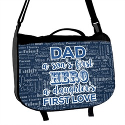 My Father My Hero Messenger Bag (Personalized)
