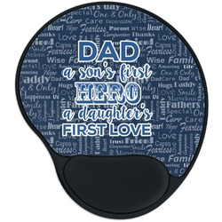 My Father My Hero Mouse Pad with Wrist Support