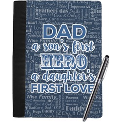 My Father My Hero Notebook Padfolio (Personalized)