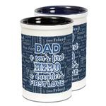 My Father My Hero Ceramic Pencil Holder - Large
