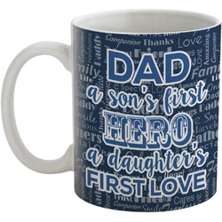 My Father My Hero Coffee Mug (Personalized)