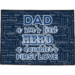 My Father My Hero Door Mat (Personalized)