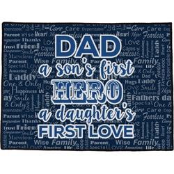 My Father My Hero Door Mat (Personalized)