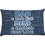 My Father My Hero Pillow Case (Personalized)