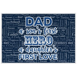 My Father My Hero Placemat (Laminated) (Personalized)