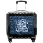 My Father My Hero Pilot / Flight Suitcase (Personalized)