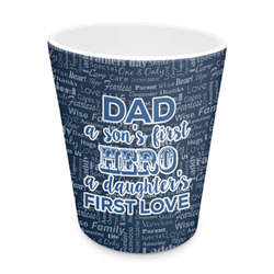 My Father My Hero Plastic Tumbler 6oz (Personalized)