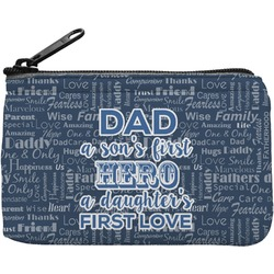 My Father My Hero Rectangular Coin Purse (Personalized)