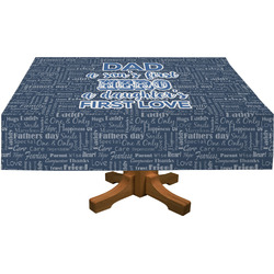 My Father My Hero Tablecloth (Personalized)